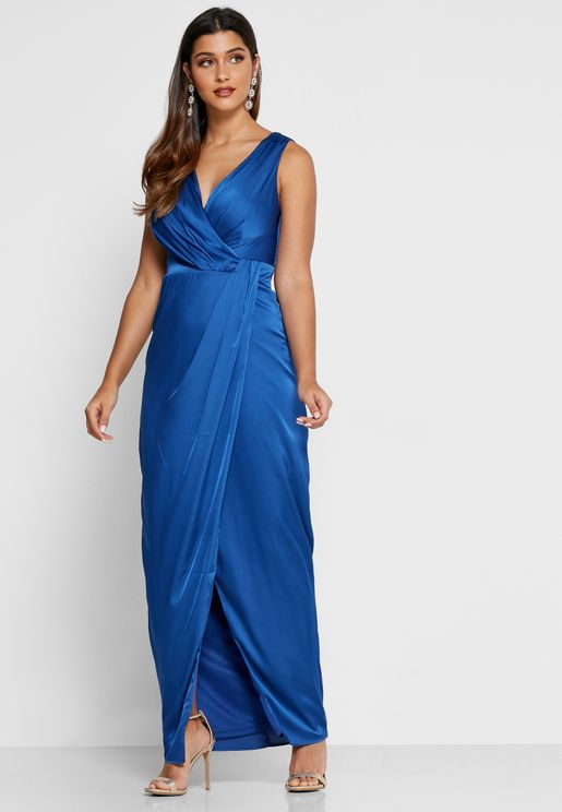 Pleated Bodycon Dress