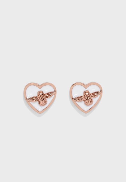 Love Bug Stud Earrings