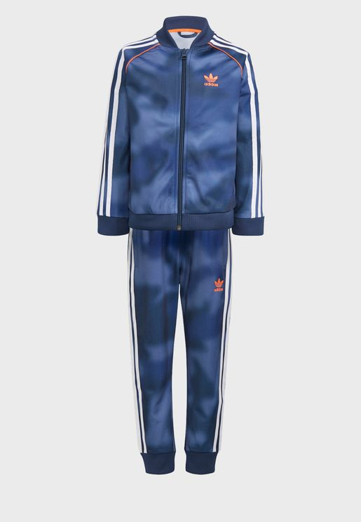 Printed Tracksuit Set