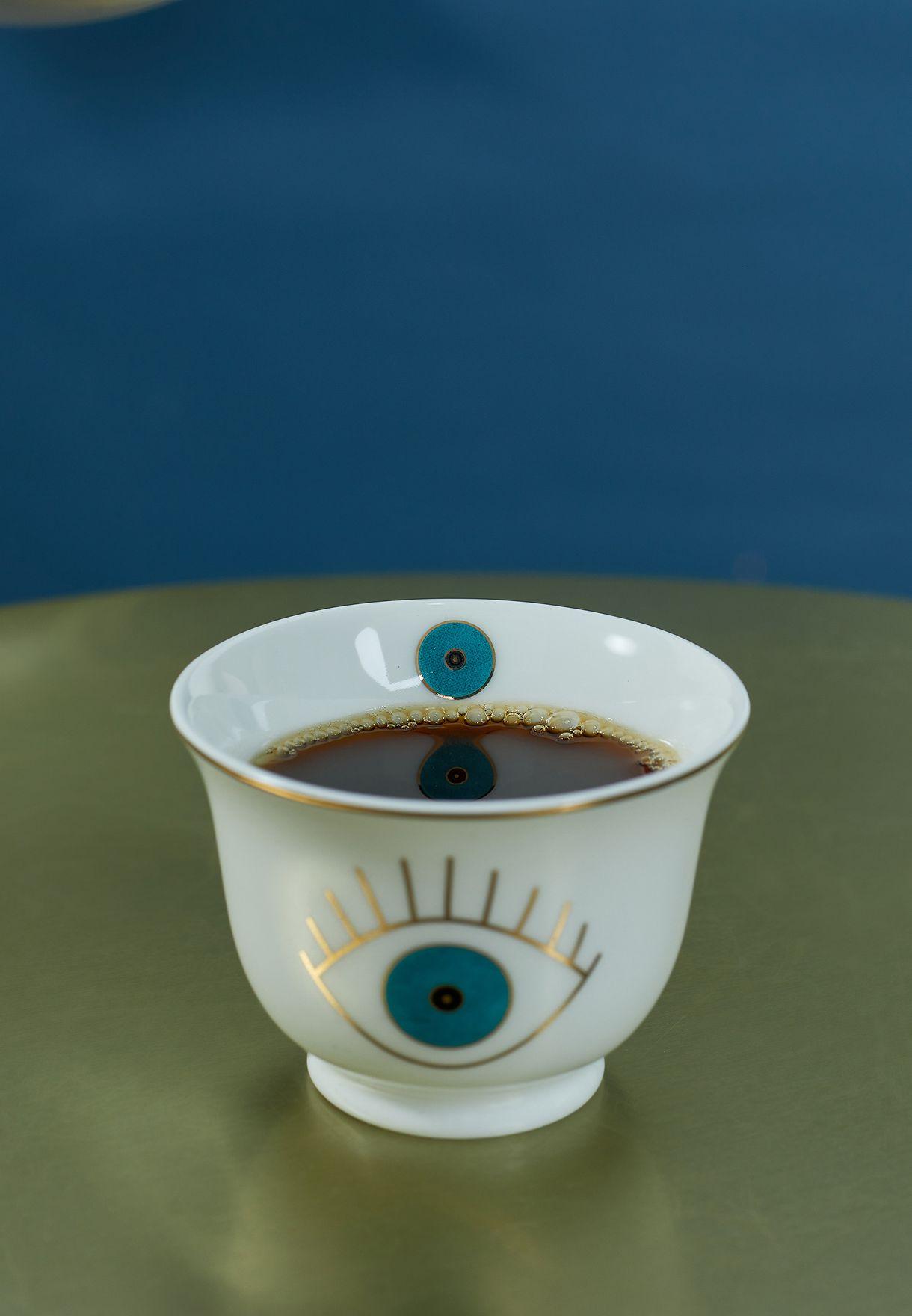 Set of 6 Chaffe Eye Cup