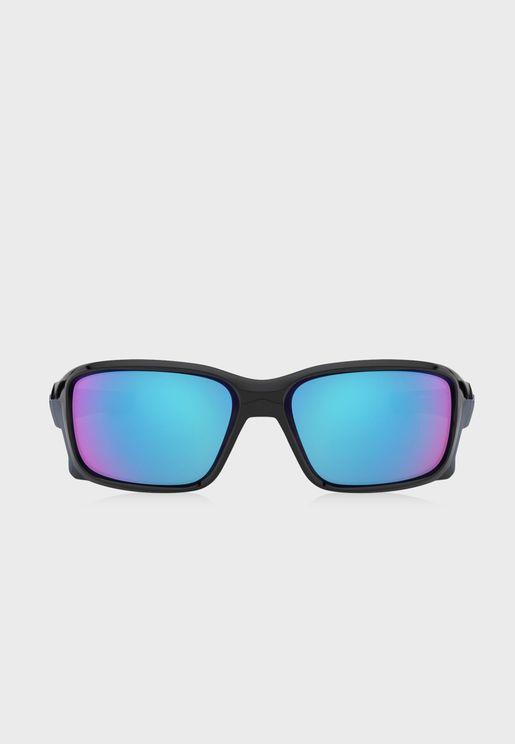 0OO9331 STRAIGHTLINK Rectangle Sunglasses