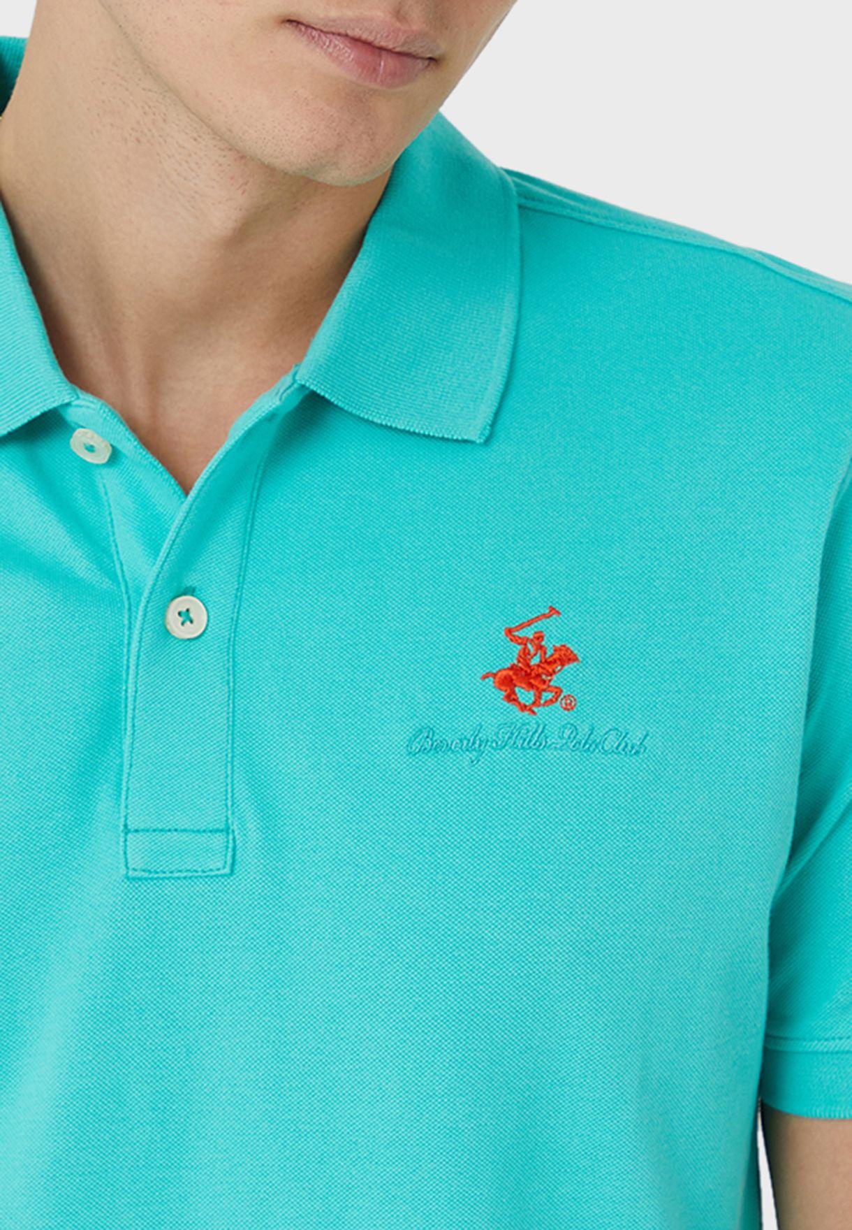 Embroidered Logo Polo