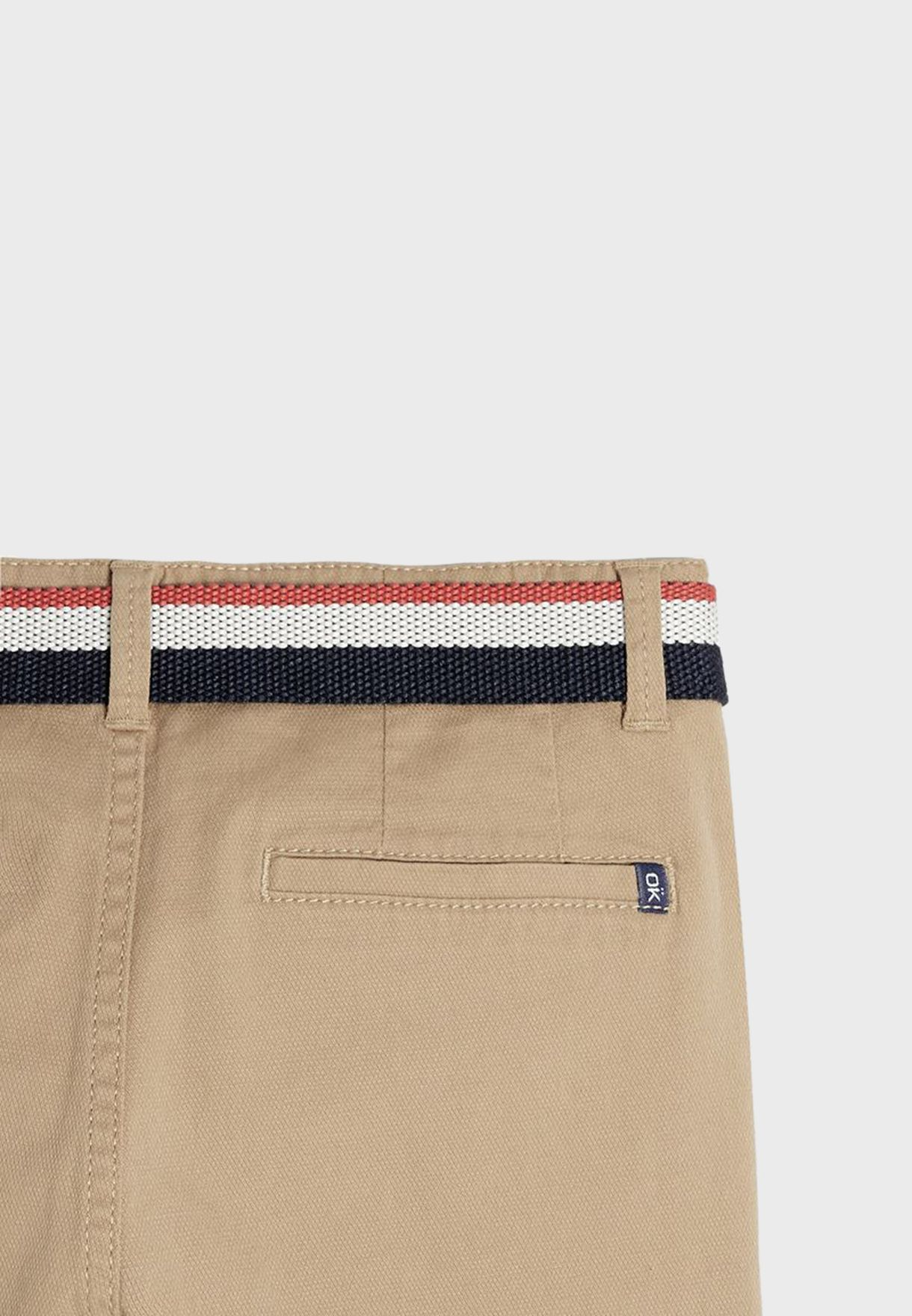 Kids Canvas Trousers