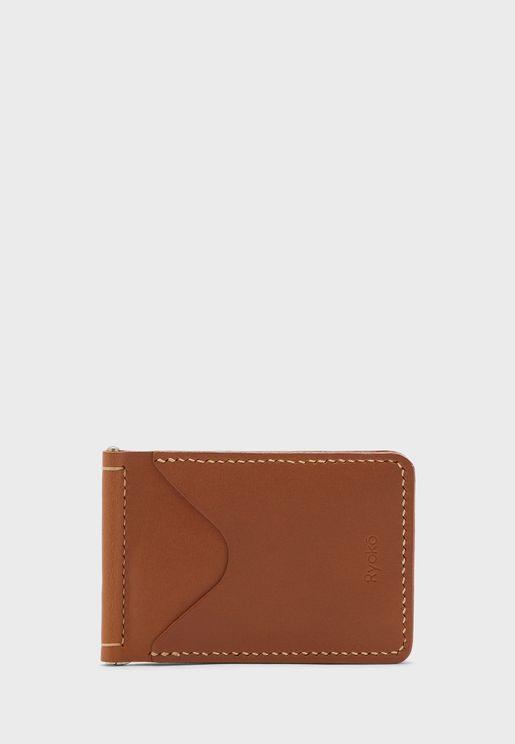 Jones Clip Leather Wallet