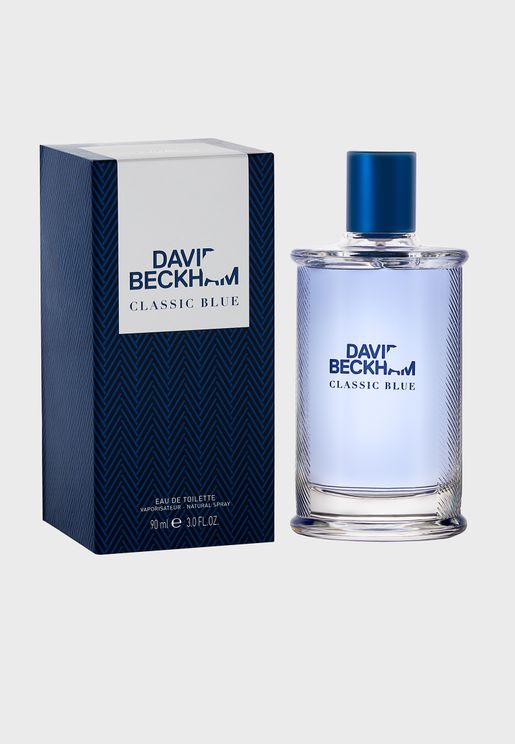 David Beckham Classic Blue, Eau de Toilette for Him, 90 ml