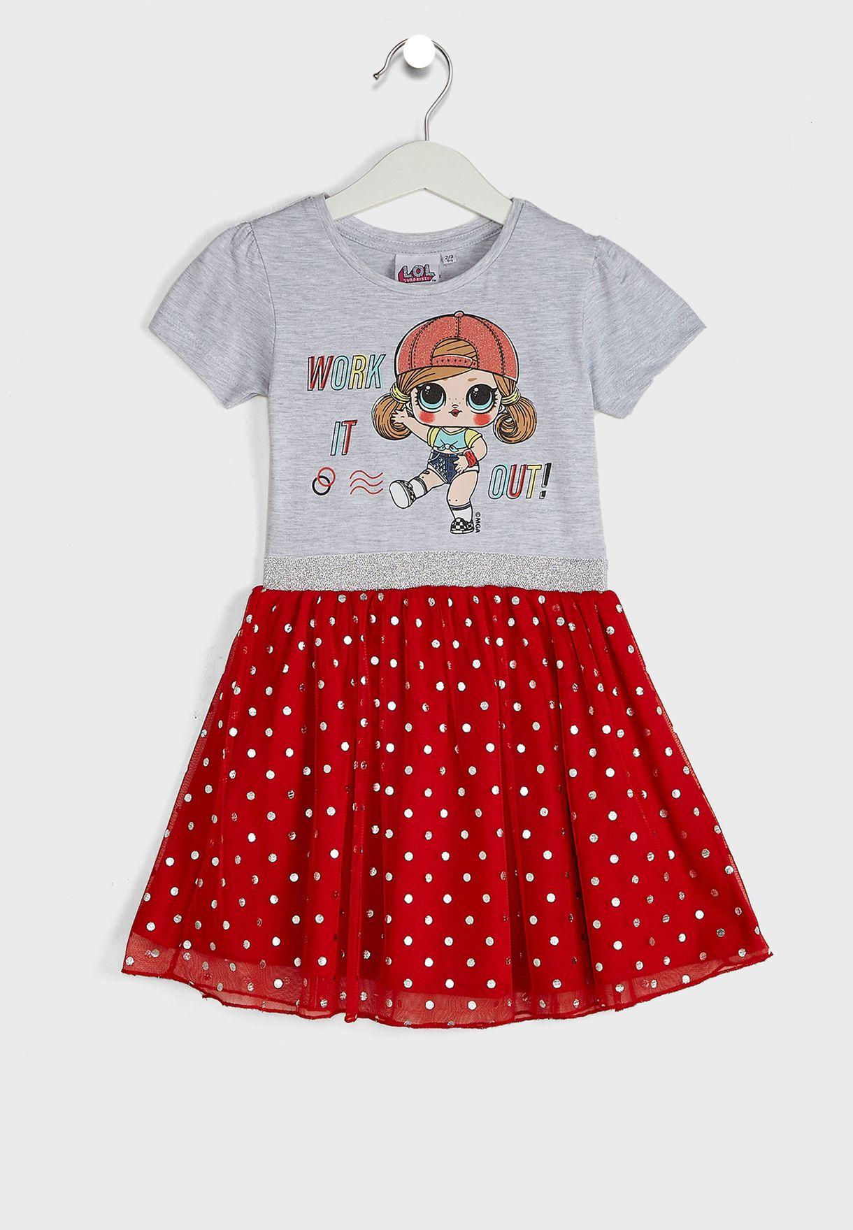 Kids Printed Dress