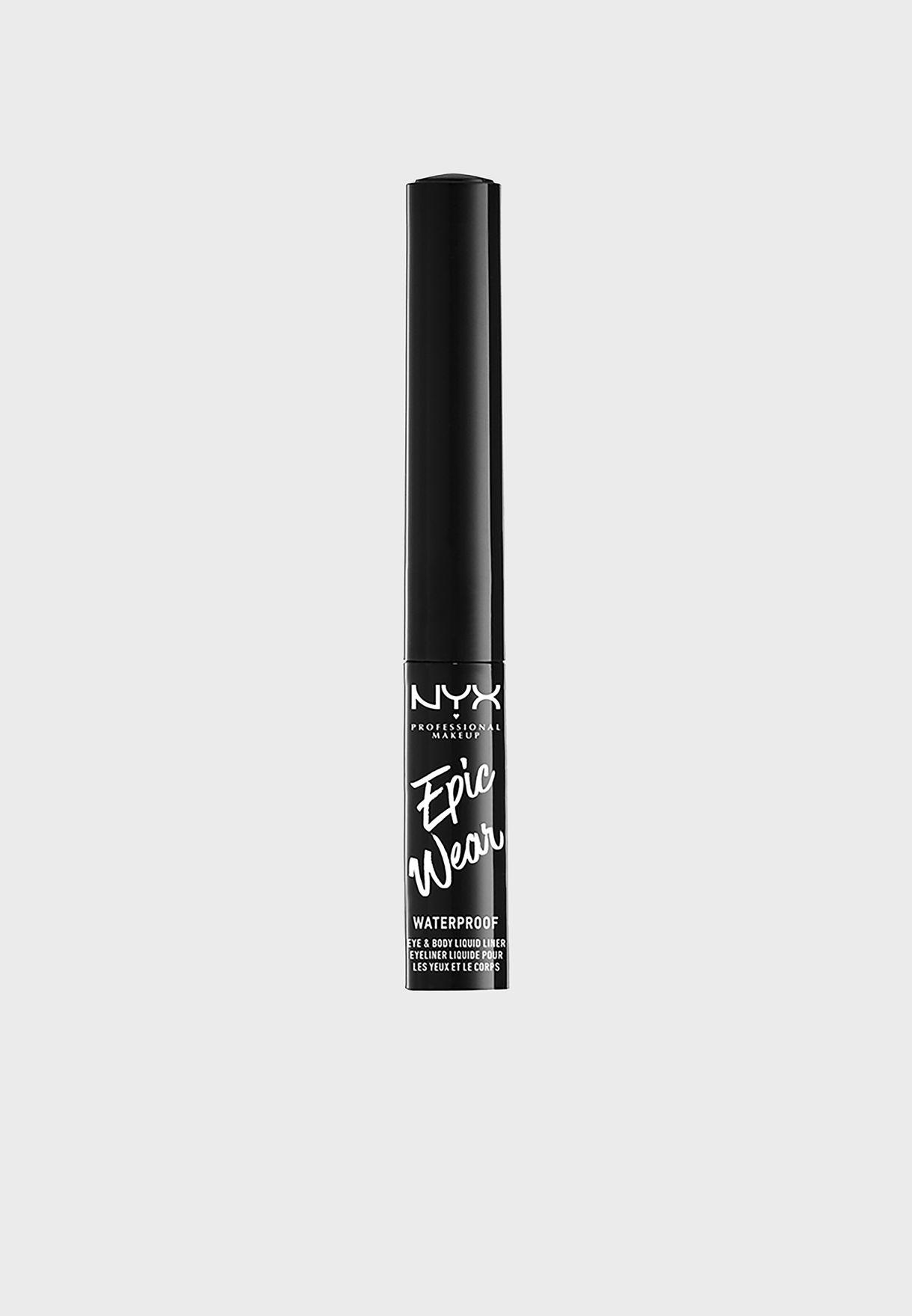 Epic Wear Liquid Liner Black