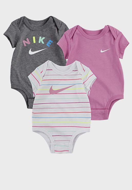 Infant 3 Pack Bodysuits