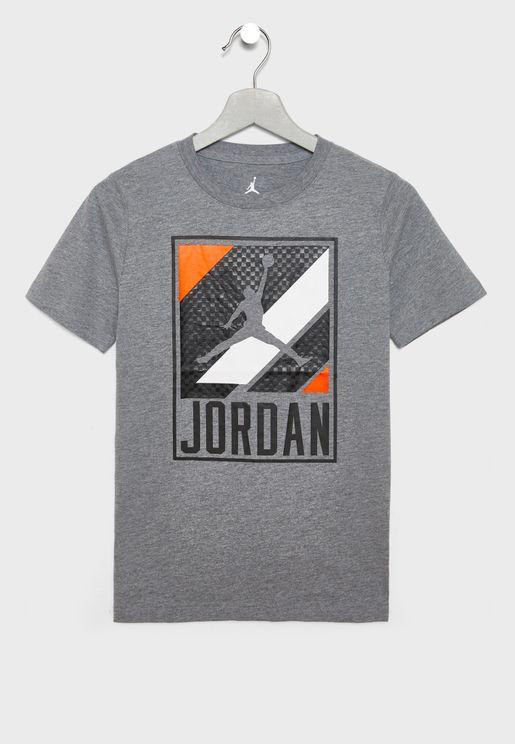 Youth Jordan Moto Speed T-Shirt