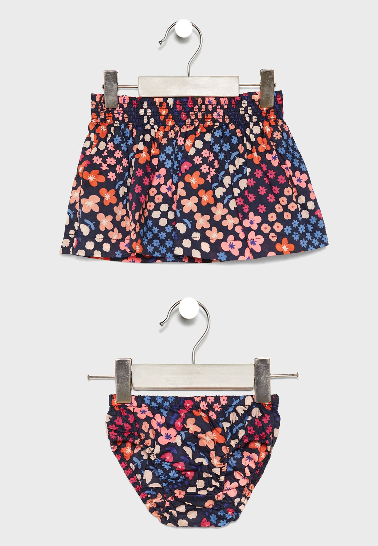 Infant Zig Zag  Skirt + Shorts Set