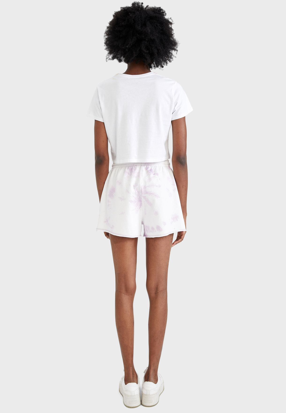 Pocket Detail Mini Shorts