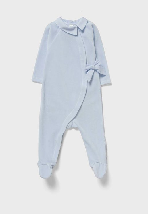 Infant Bow Detail Onesie