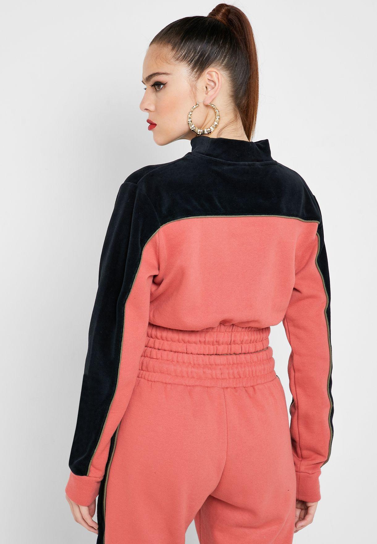 Cadence Velour Sweatshirt