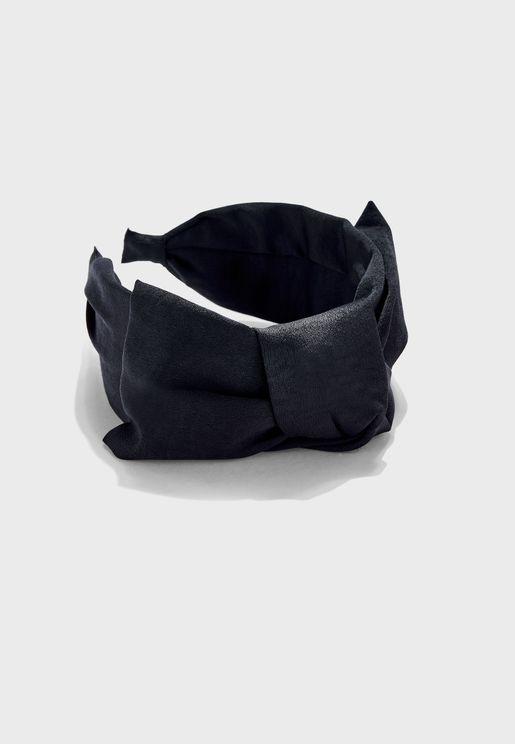 Giant Bow Silky Headband