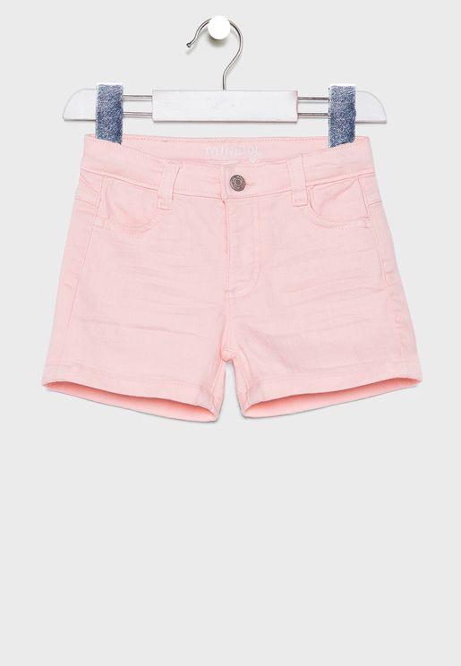 Little Hem Fold Shorts