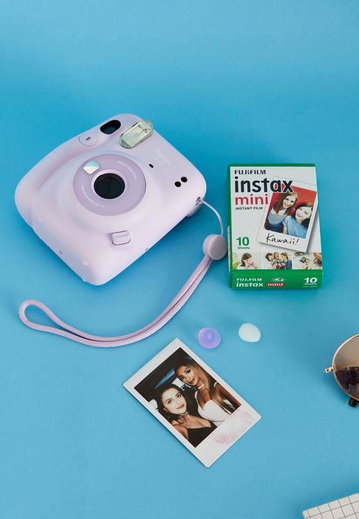 Mini 11 Instax Camera + 1 Pack Film