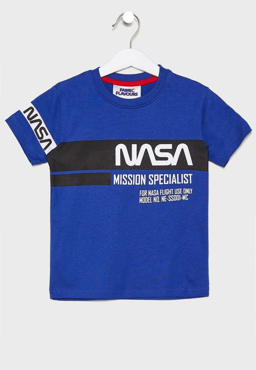 Kids Nasa Mission T-Shirt