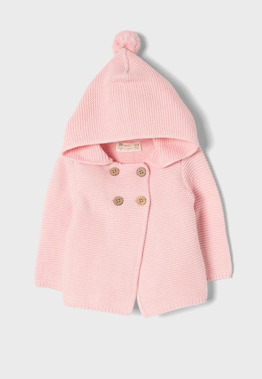 Infant Hooded Cardigan