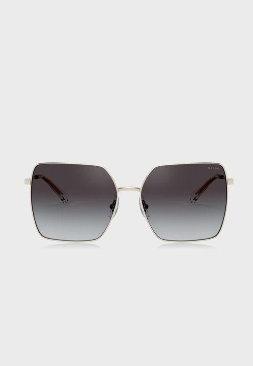 0Ra4132 Oversized Sunglasses