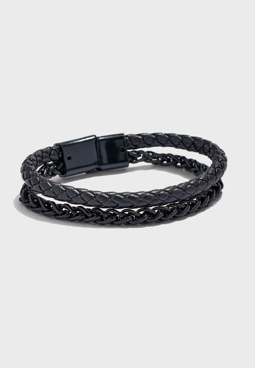 Chan And Braided Bracelet