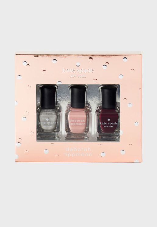 3 Pack Nail Polish Set - Kate Spade