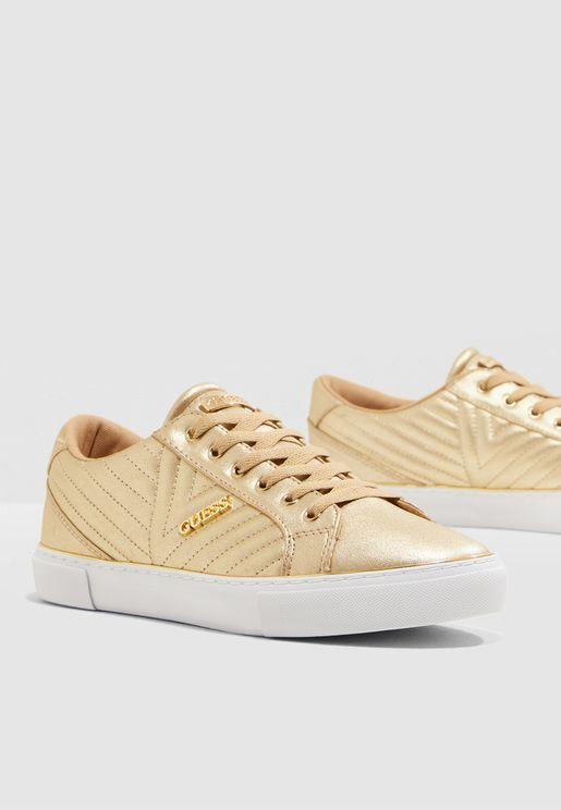Groovie Sneaker - Gold