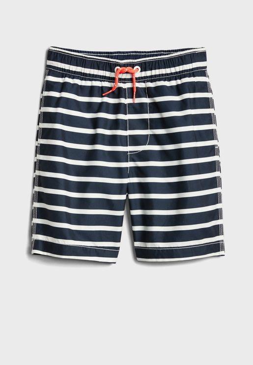 Infant Striped Shorts