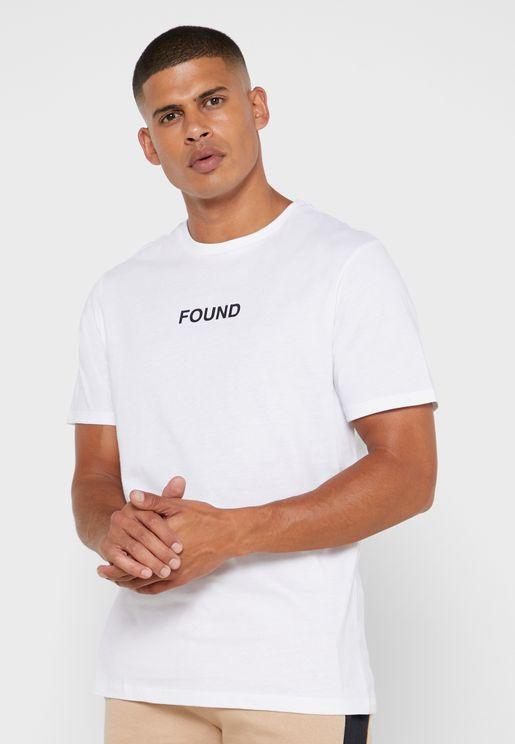 Found Print T Shirt