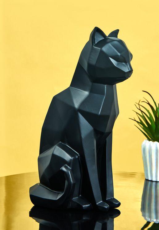 Cat Origami Statue