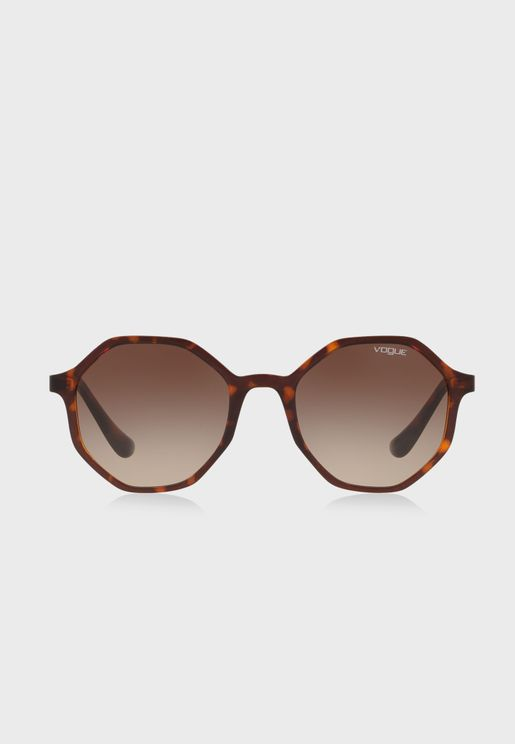 0VO5222S Hexagonal Sunglasses