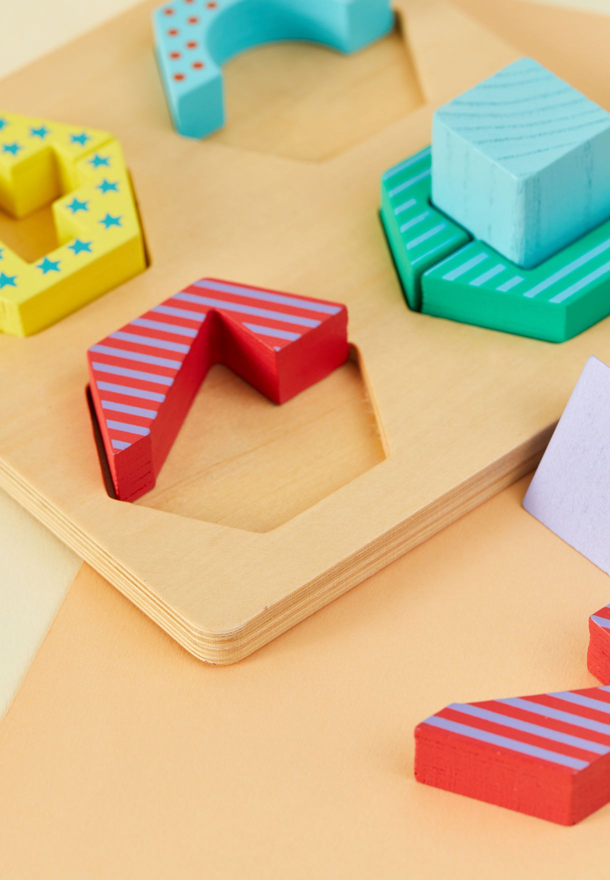 Kids Shape Stack Puzzle