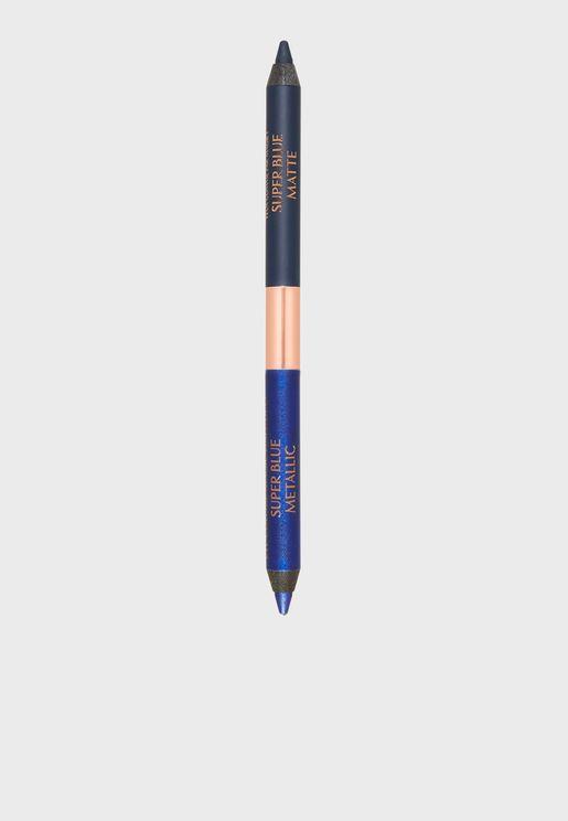 Double Ended Eyeliner - Super Blue