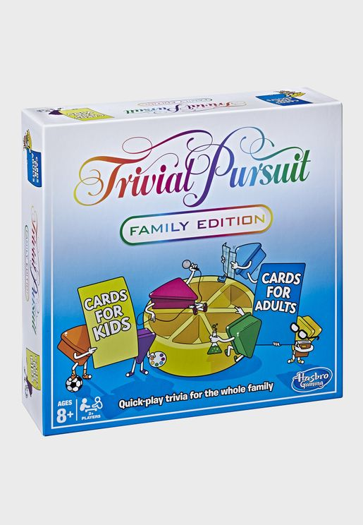 Trivial Pursuit Family Edition Board Game