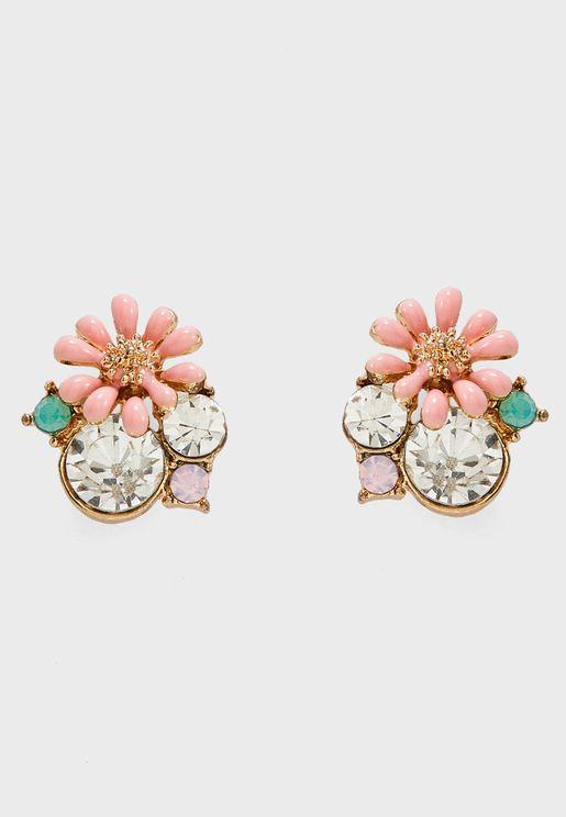 Calibre Stud Earrings