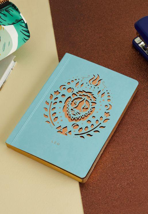 دفتر ملاحظات A6 برج الاسد