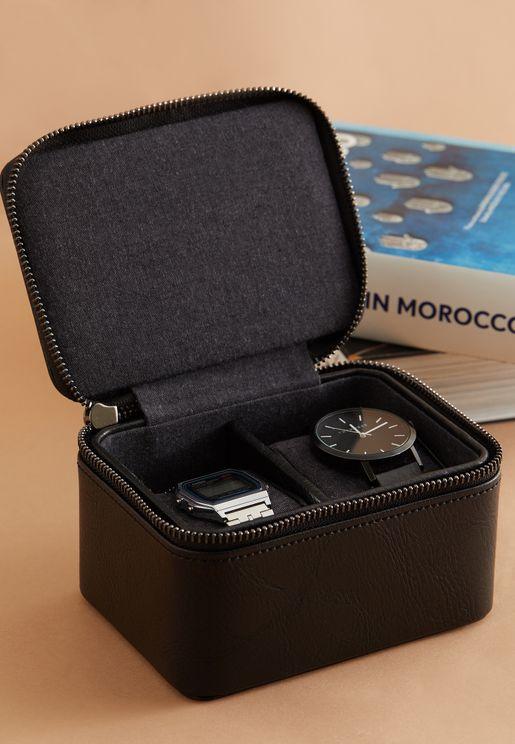 Large Travel Watch Box