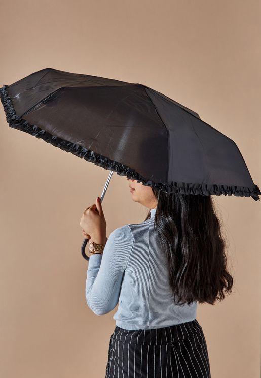 مظلة باطراف مكشكشة