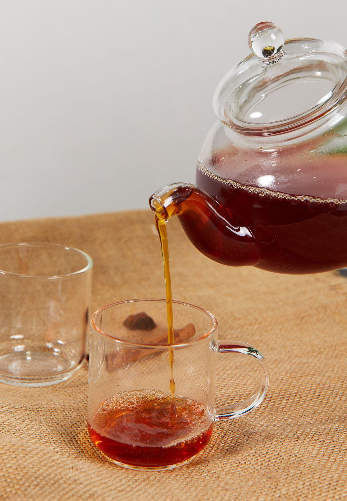 5 Piece Glass Tea Set