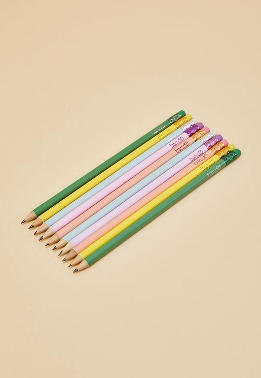 Take Care Write On Pencil Set