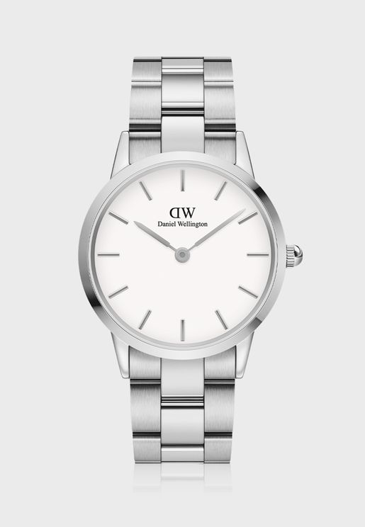 Iconic Link 36 S White DW00100203 Watch