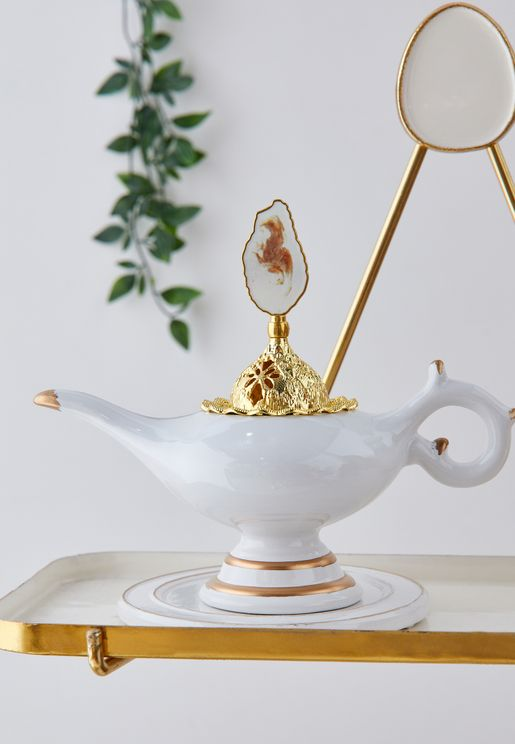 Tea Pot Shaped Incense Burner