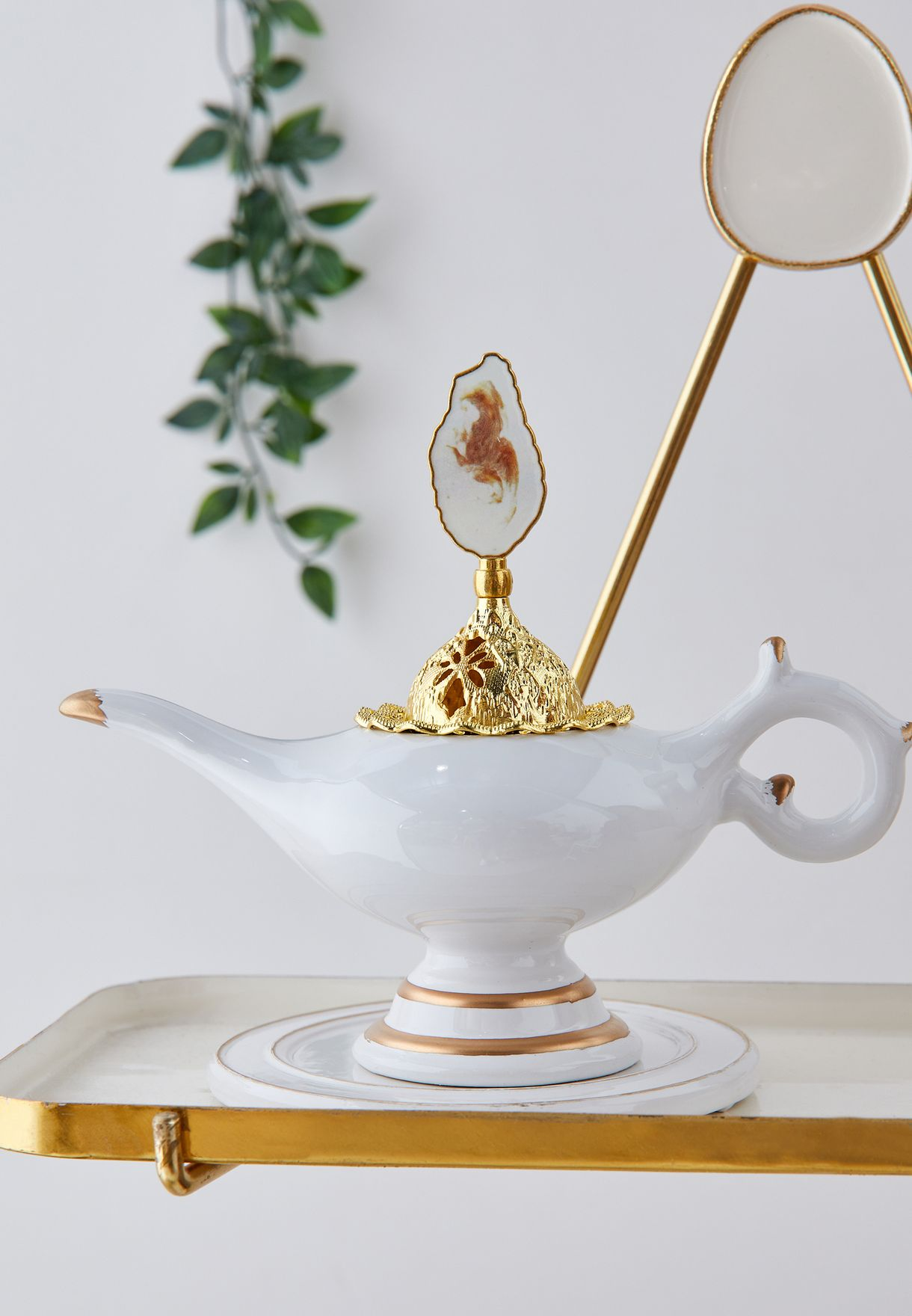Tea Pot Shaped Incense Burner
