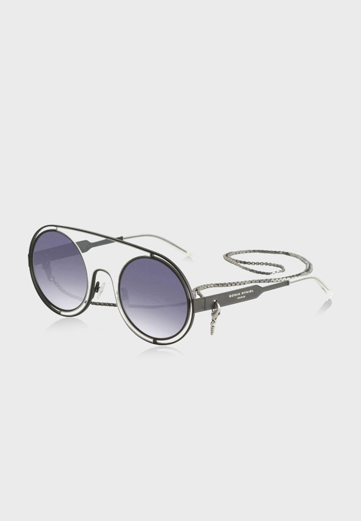 L SR778603 Round Sunglasses