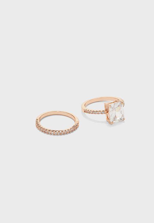 Larelallan  Ring Set