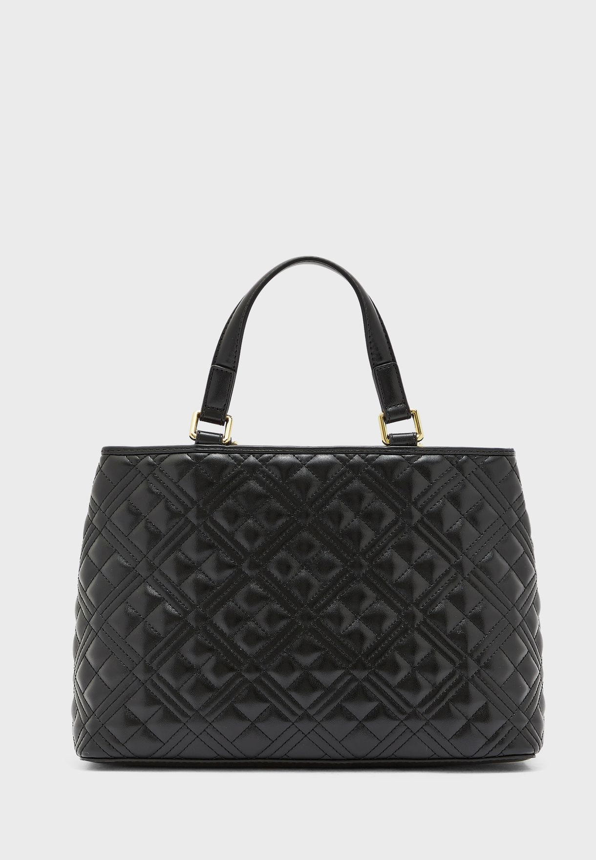 Double Strap Quilted Satchel