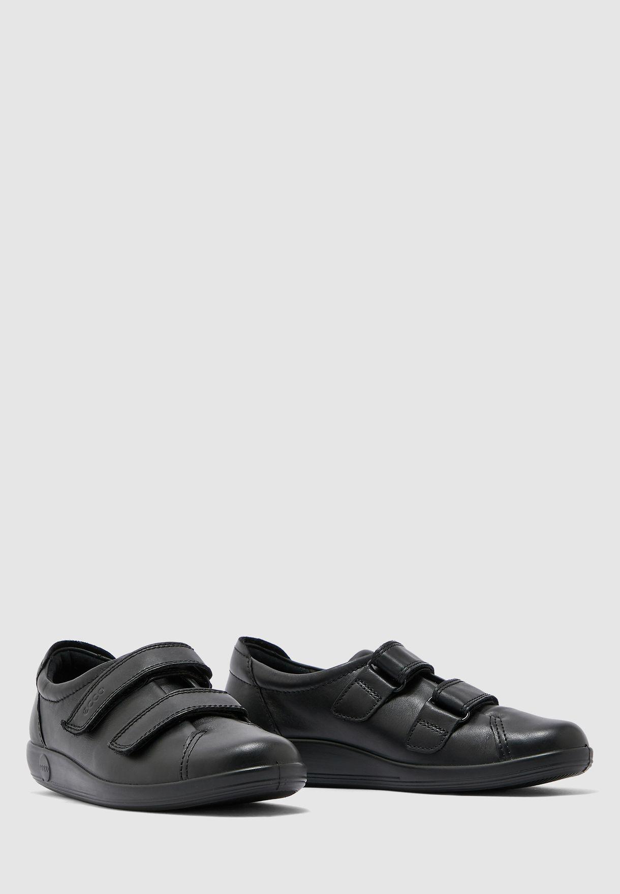 Ecco Soft Strap Slip On - Black