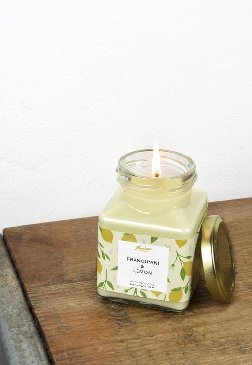Frangipani & Lemon Candle 8oz