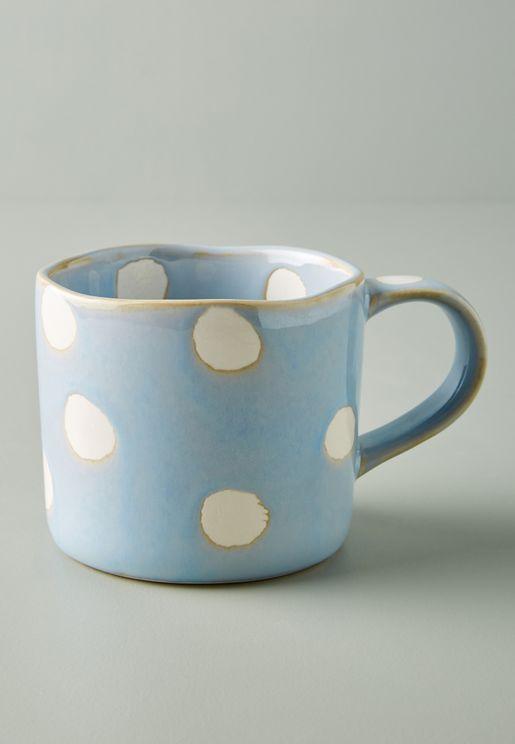Peeping Cat Print Mug