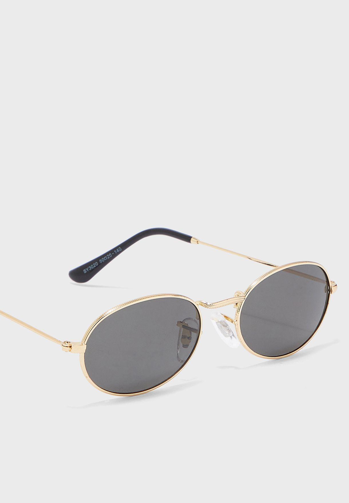 نظارة شمسية دائرية بنمط فينتاج