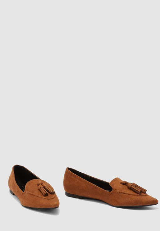 Fifi Pointed Moccasin